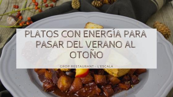 Alimentación para cambiar de estación: ideas de platos para pasar del verano al otoño con energía