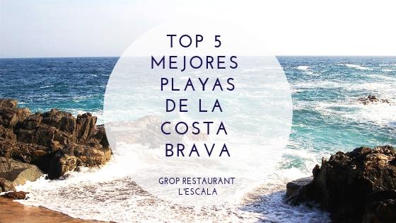 Las mejores playas de la Costa Brava: top 5 playas más espectaculares