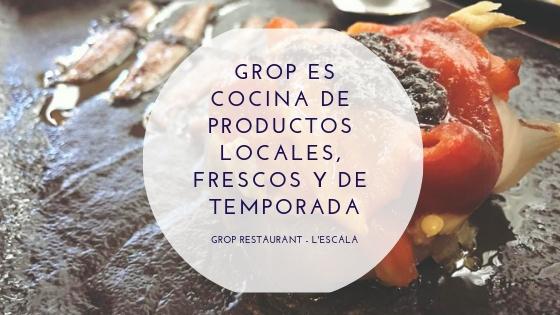 Conoce nuestra cocina de productos locales, frescos y de temporada